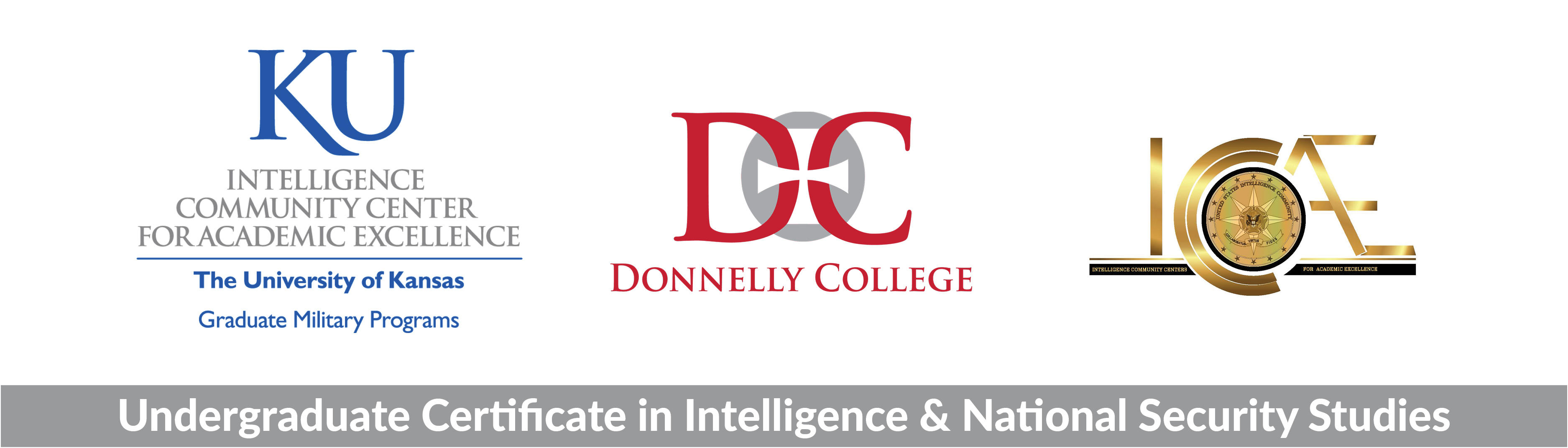 Header image with Donnelly, KU and ICCAE logos