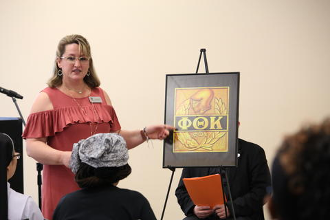 PTK Induction Ceremony, Spring 2018-2581