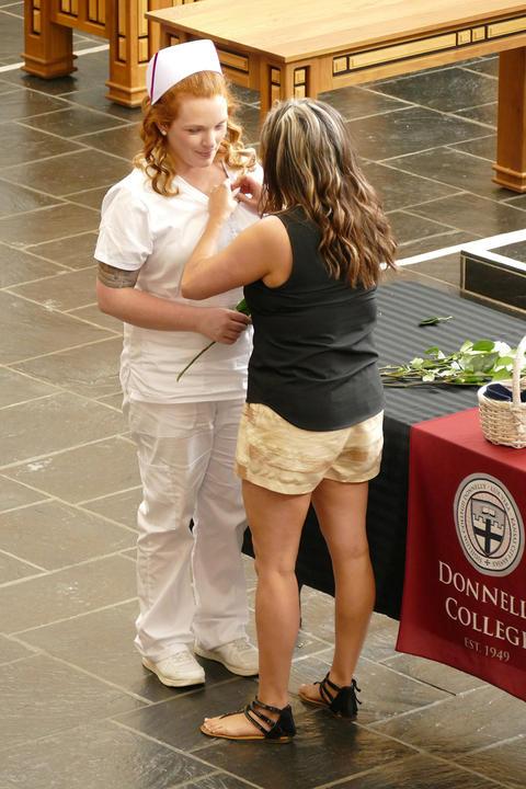 kansas city nursing programs pinning ceremony