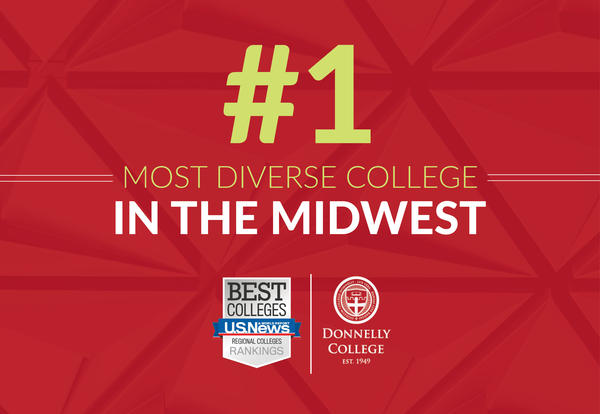 Donnelly Named Most Diverse College in Midwest for Second Year in a Row