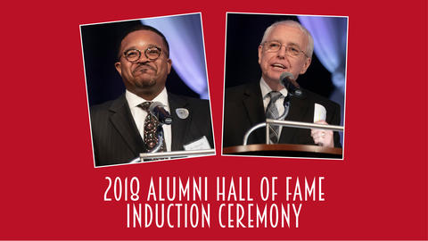 Alumni inducted into Alumni Hall of Fame