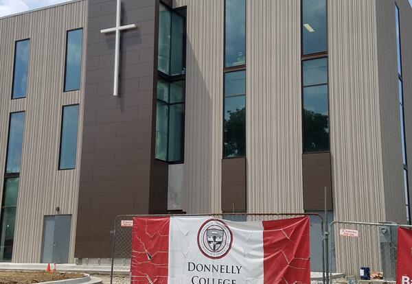 Exterior Cross on Building
