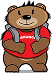 Oakwood School Bear Logo