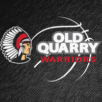 Old Quarry Warriors Basketball Logo