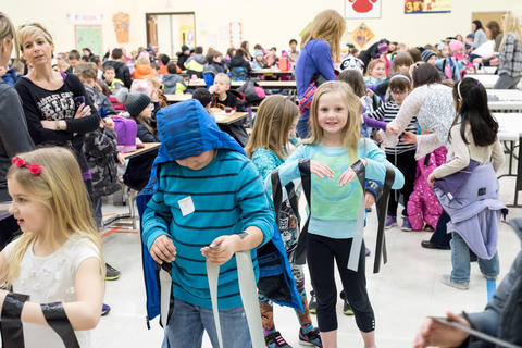Read Across America Day celebrated at Oakwood school March 4 2016-16