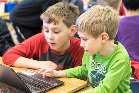 River Valley Oakwood Hour of Code Collaboration January 29 2016-08
