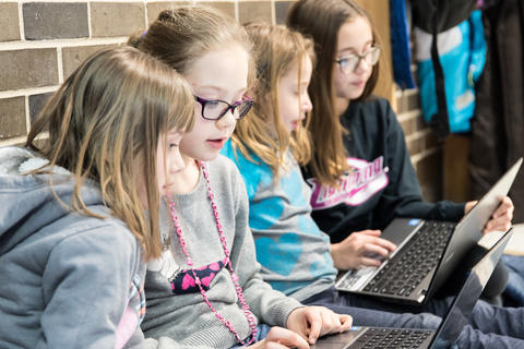 River Valley Oakwood Hour of Code Collaboration January 29 2016-12