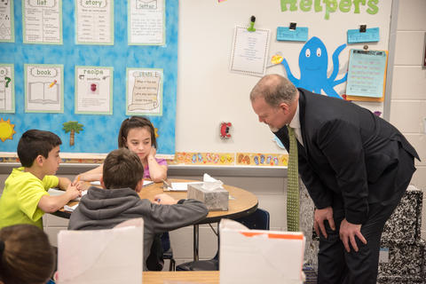 State Superintendent of Education Dr Tony Smith tours District 113A Schools March 24 2016-06