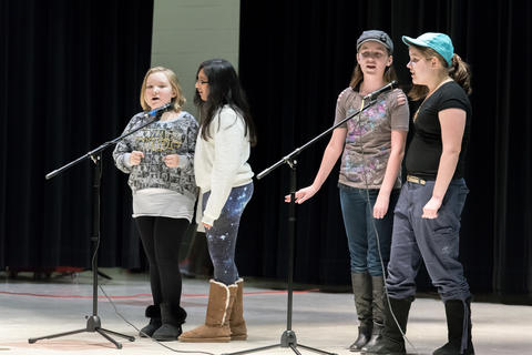Old Quarry Student Talent Show January 22 2016-07