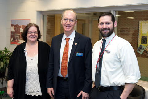 Congressman Bill Foster Visit to Old Quarry March 18 2016-10