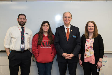 Congressman Bill Foster Visit to Old Quarry March 18 2016-09