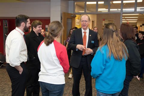 Congressman Bill Foster Visit to Old Quarry March 18 2016-12