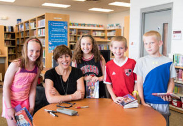 Kirby Larson Visited River Valley School Today