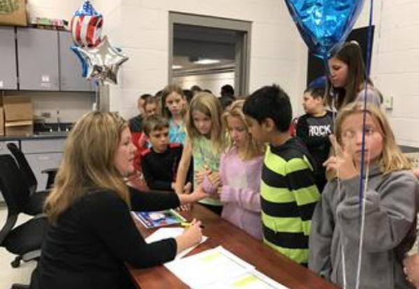 River Valley Students Learn About the Privilege of Voting