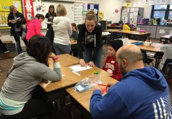 River Valley Staff hosts a school-wide math exploration night