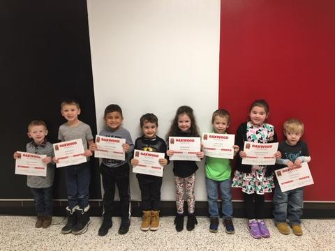 Oakwood 2018-19 Students of the Month 08