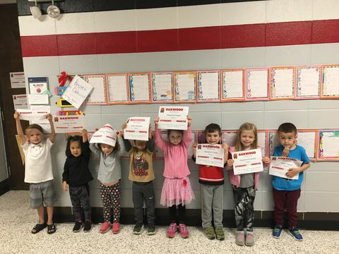 April May Students of the Month