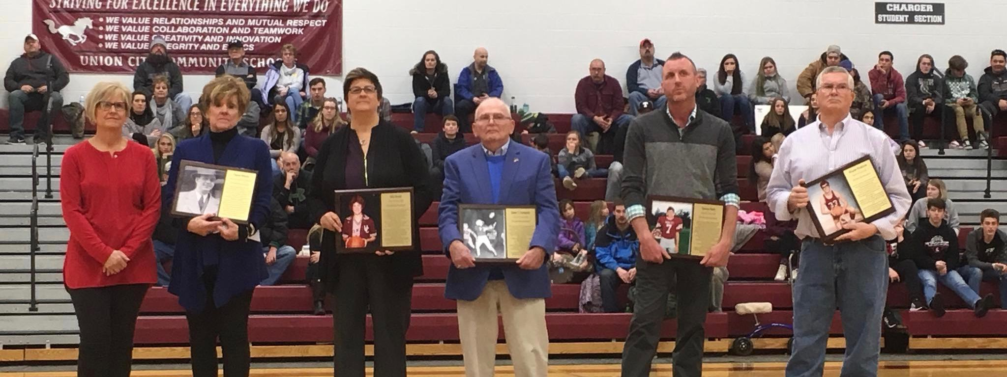 Photo of Hall of Fame Award Winners