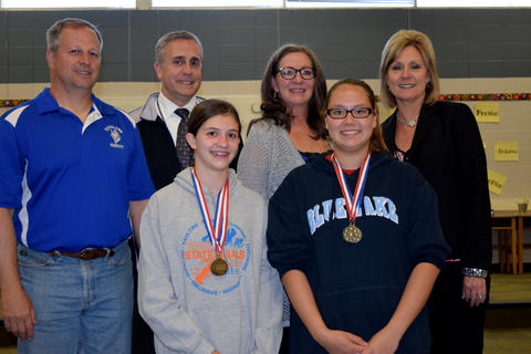 Board of Education Student Recognition - May 2015 06
