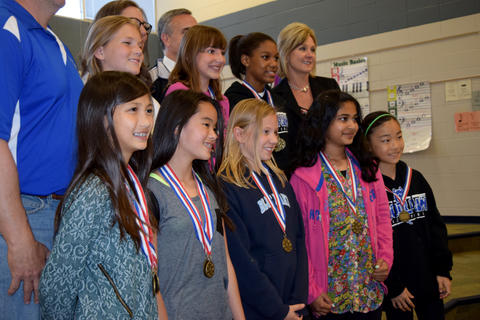 Board of Education Student Recognition - May 2015 08