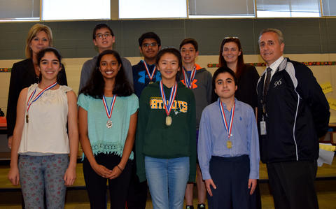 Board of Education Student Recognition - May 2015 16