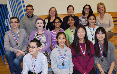 Illinois Music Education winners for orchestra