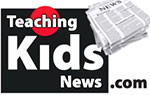 Teaching Kids News logo
