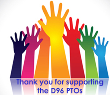 Thank you for supporting the D96 PTOs