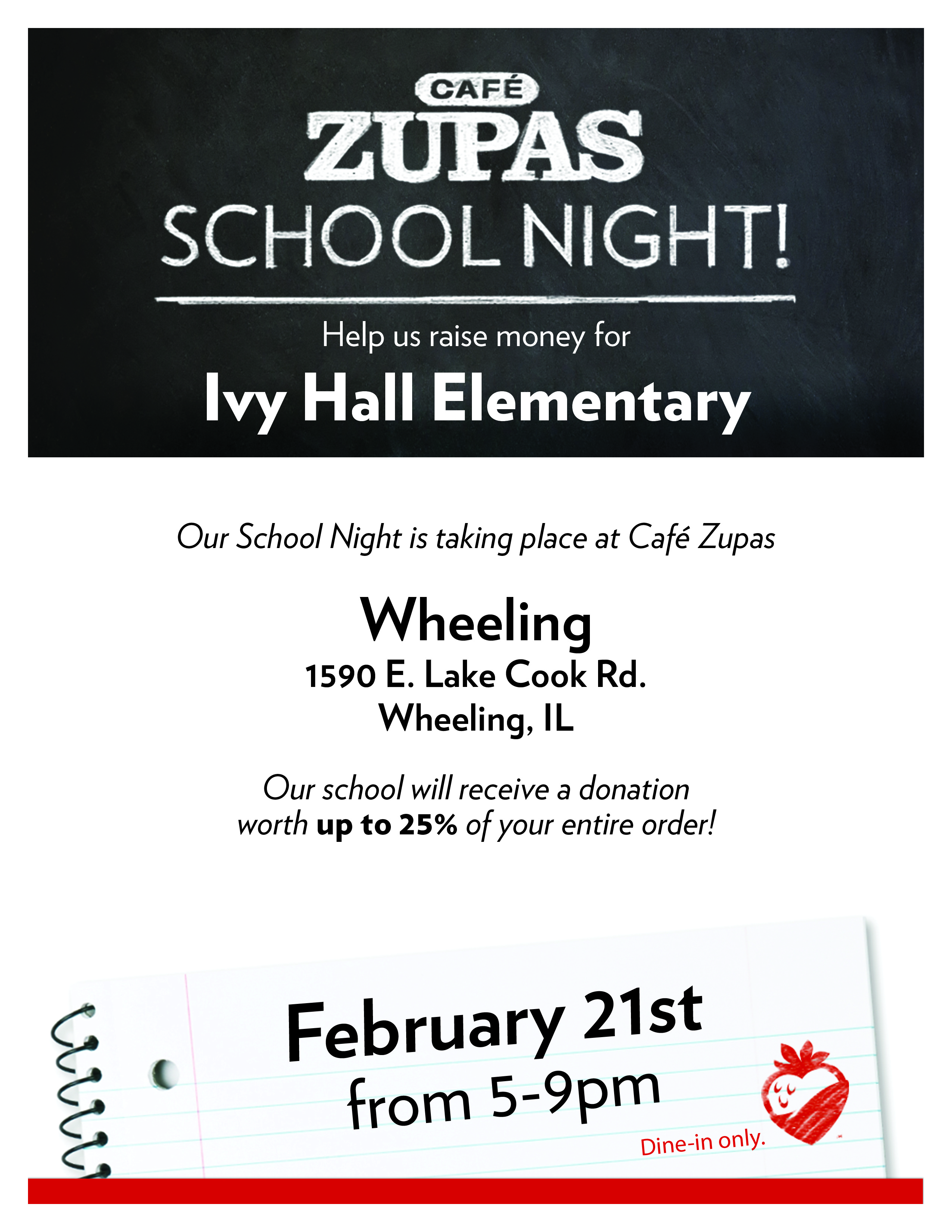 Friday February 10 2017 Ivy Hall Pto