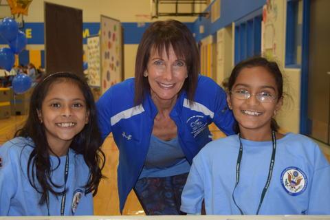Prairie School Celebrates Blue 12