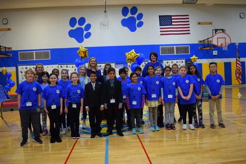 Prairie School Celebrates Blue 15