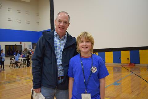 Prairie School Celebrates Blue 20