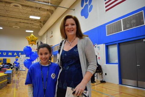 Prairie School Celebrates Blue 21