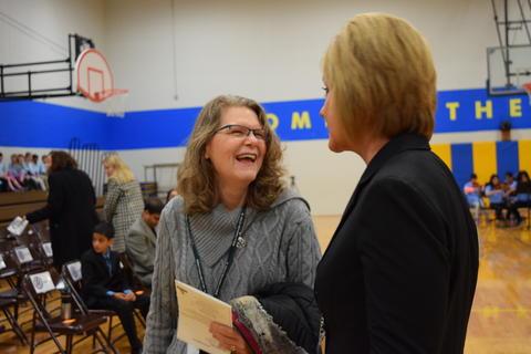 Prairie School Celebrates Blue 22