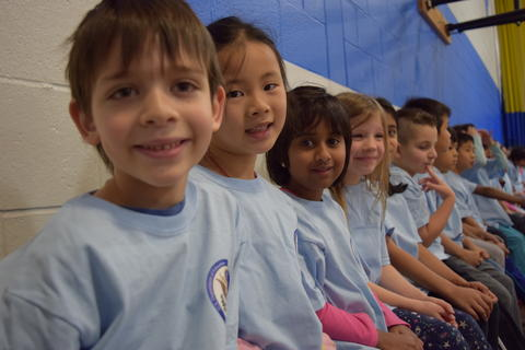 Prairie School Celebrates Blue 23