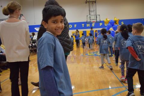 Prairie School Celebrates Blue 24