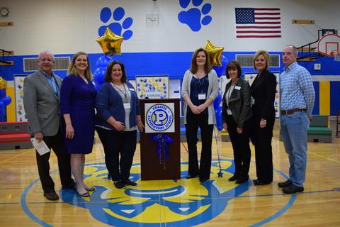 Prairie School Celebrates Blue 25