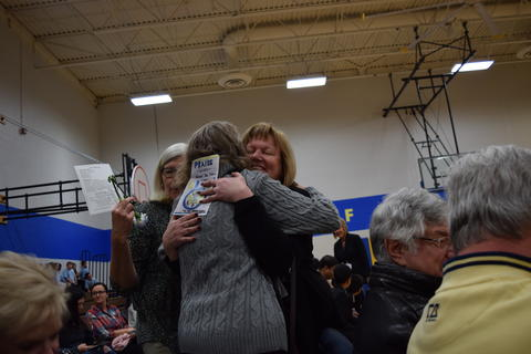 Prairie School Celebrates Blue 26