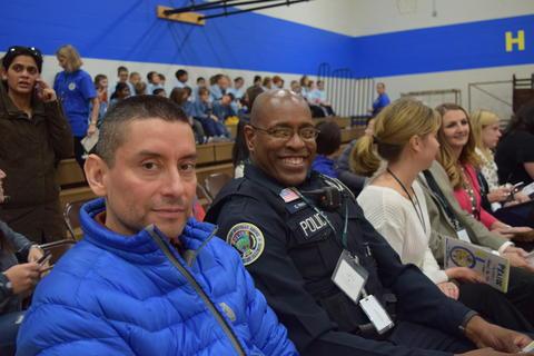 Prairie School Celebrates Blue 29