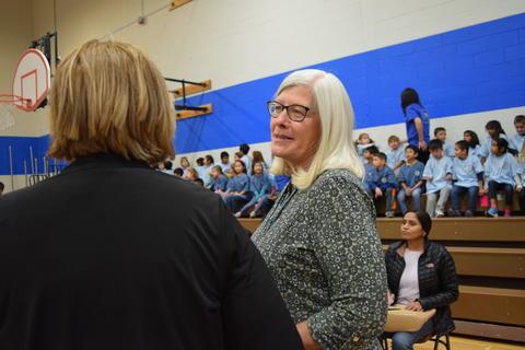 Prairie School Celebrates Blue 30