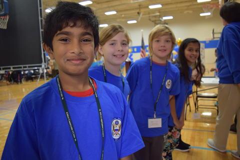 Prairie School Celebrates Blue 31