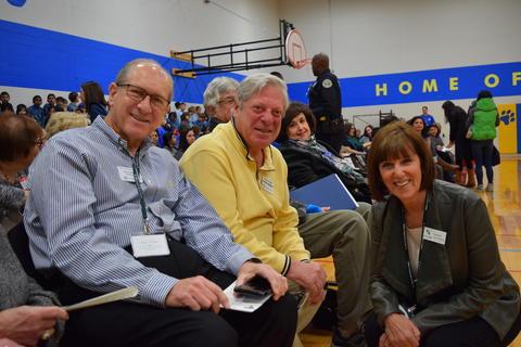 Prairie School Celebrates Blue 37
