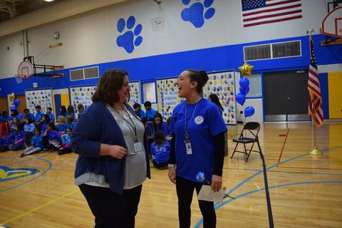Prairie School Celebrates Blue 38