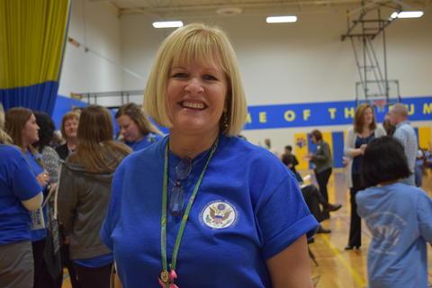 Prairie School Celebrates Blue 39