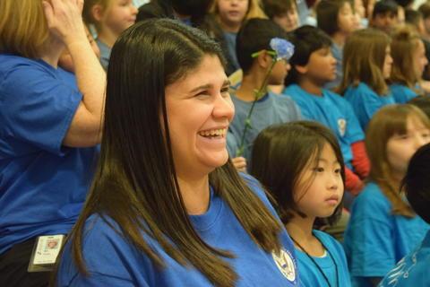 Prairie School Celebrates Blue 40