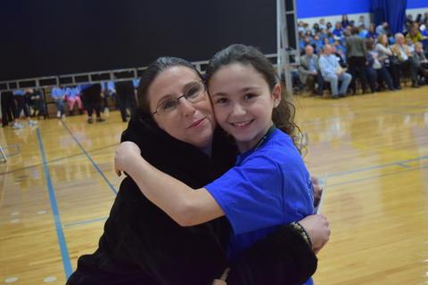 Prairie School Celebrates Blue 41