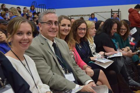 Prairie School Celebrates Blue 43