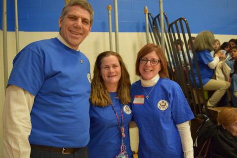 Prairie School Celebrates Blue 44