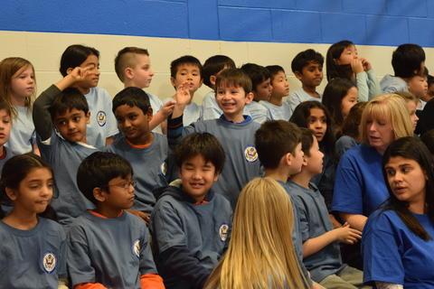 Prairie School Celebrates Blue 46