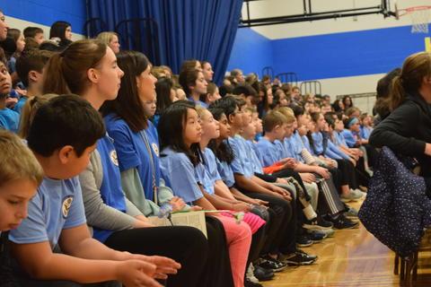 Prairie School Celebrates Blue 47
